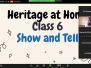 Heritage at Home (29th Aug 2020)